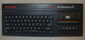 ZX Spectrum +2A (The A meant it was black..)