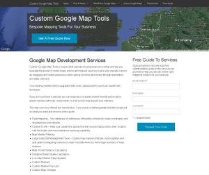 Custom Google Maqp Tools